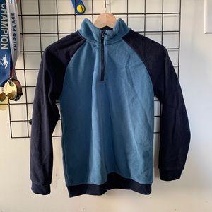 Gymboree Blue Color block Fleece Boys 10-12